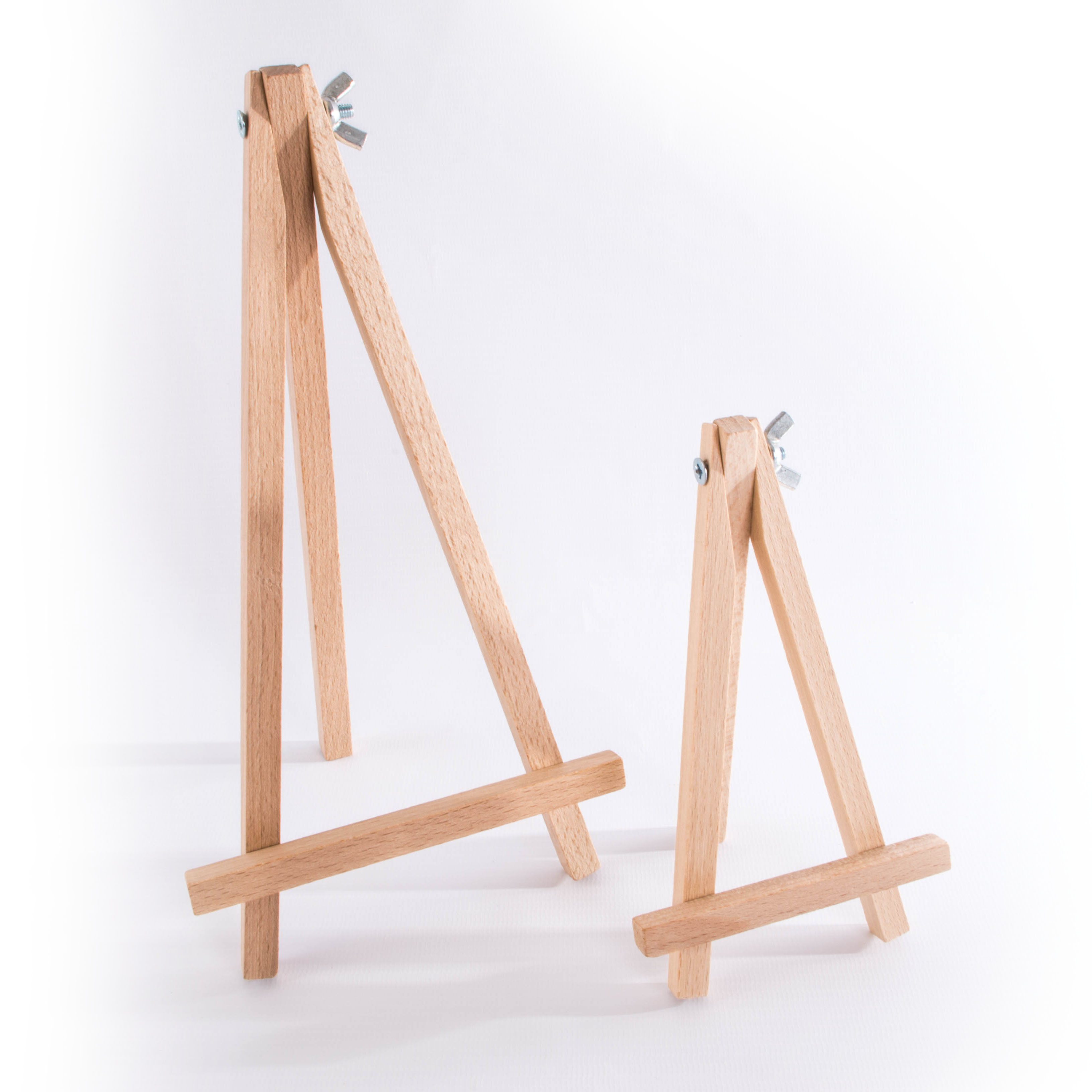 Details About Small Mini Wooden Easel Stand 15 Or 25cm Table Desktop Wedding Photo Display